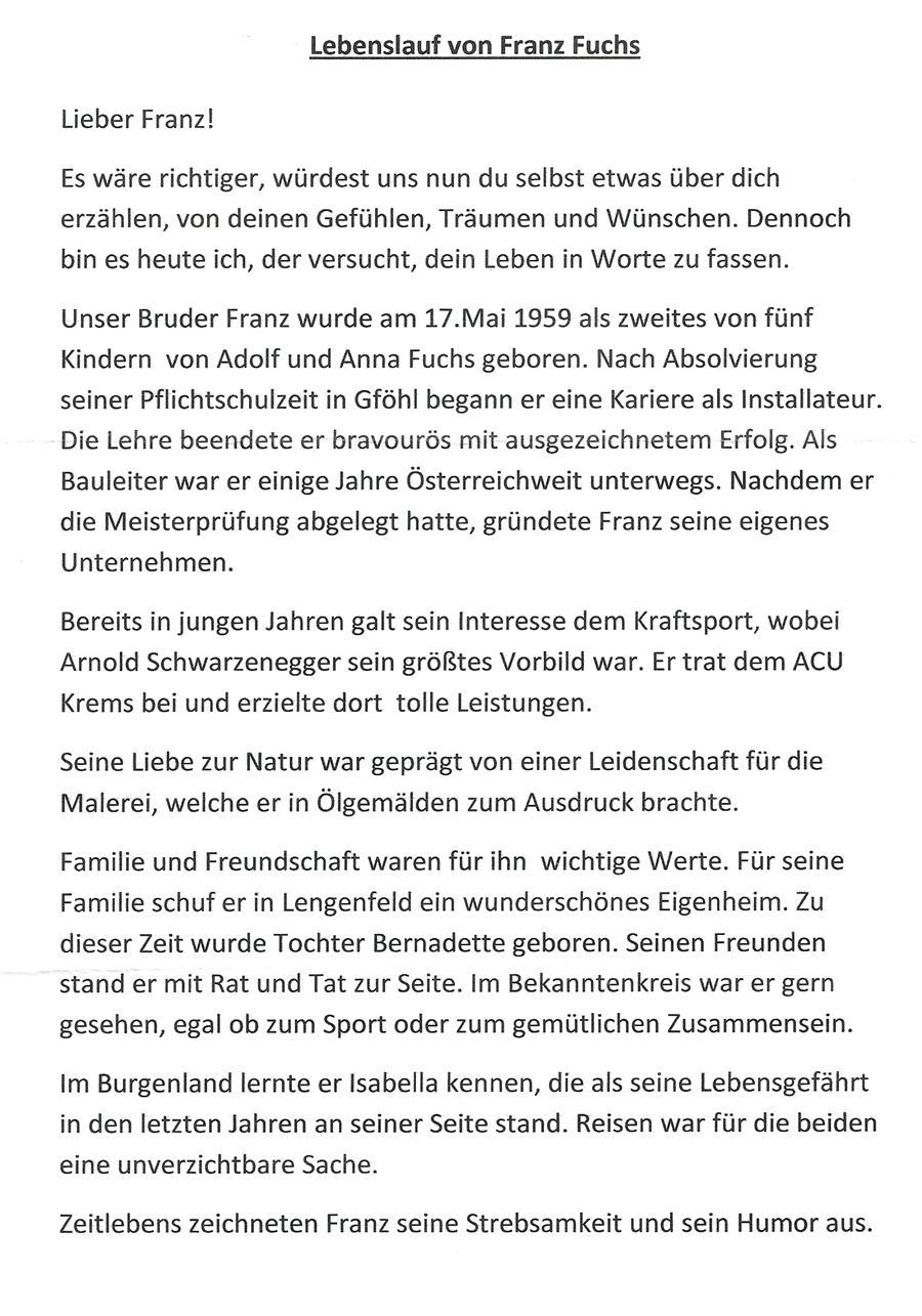 arnold schwarzenegger streit um schwarzenegger biografie 25102010 franz fuchs lebenslauf - Arnold Schwarzenegger Lebenslauf